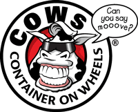 cows container on wheels logo