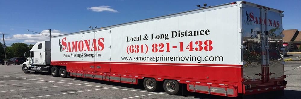 Samonas Prime long distance moving truck