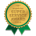 Angies List Award for 2014 and 2015